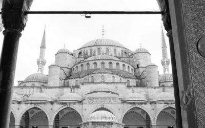 Blauwe Moskee binnenplaats